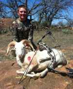 youth bow hunting mason texas hill country