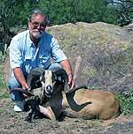 Trophy Corsican Taken at The Wildlife Ranch
