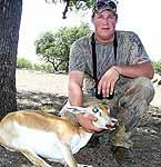 Fully Guided hunts for great trophy animals at The Wildlfe Ranch in Mason, Texas