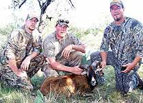 Hunting in groups for different game all over The Wildlife Ranch