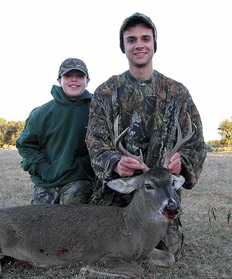 Trophy Whitetail Deer Hunts in the Mason County Mesquite Brush