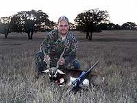 Blackbuck Antelope hunts in the mountainous country of Mason Co.