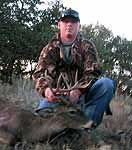 Hunting Trophy Whitetail in the rolling hills of texas