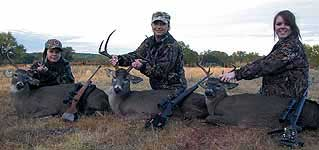 Hunting Trophy Whitetail bucks in the texas hill country