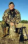 Whitetail hunts in the rolling hills of mid-texas