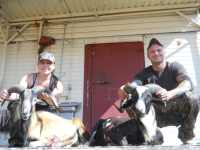 Couples hunt in the hill country for rams