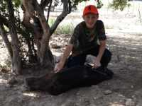youth hog hunt Mason, TX hill country