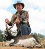 blackbuck antelope rocks rugged hunt