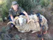 youth hunt trophy ram rifle